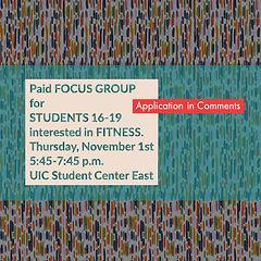 Focus Group ad