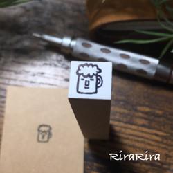 R108【飲み会】スケジュールはんこ*10㎜×10㎜_1