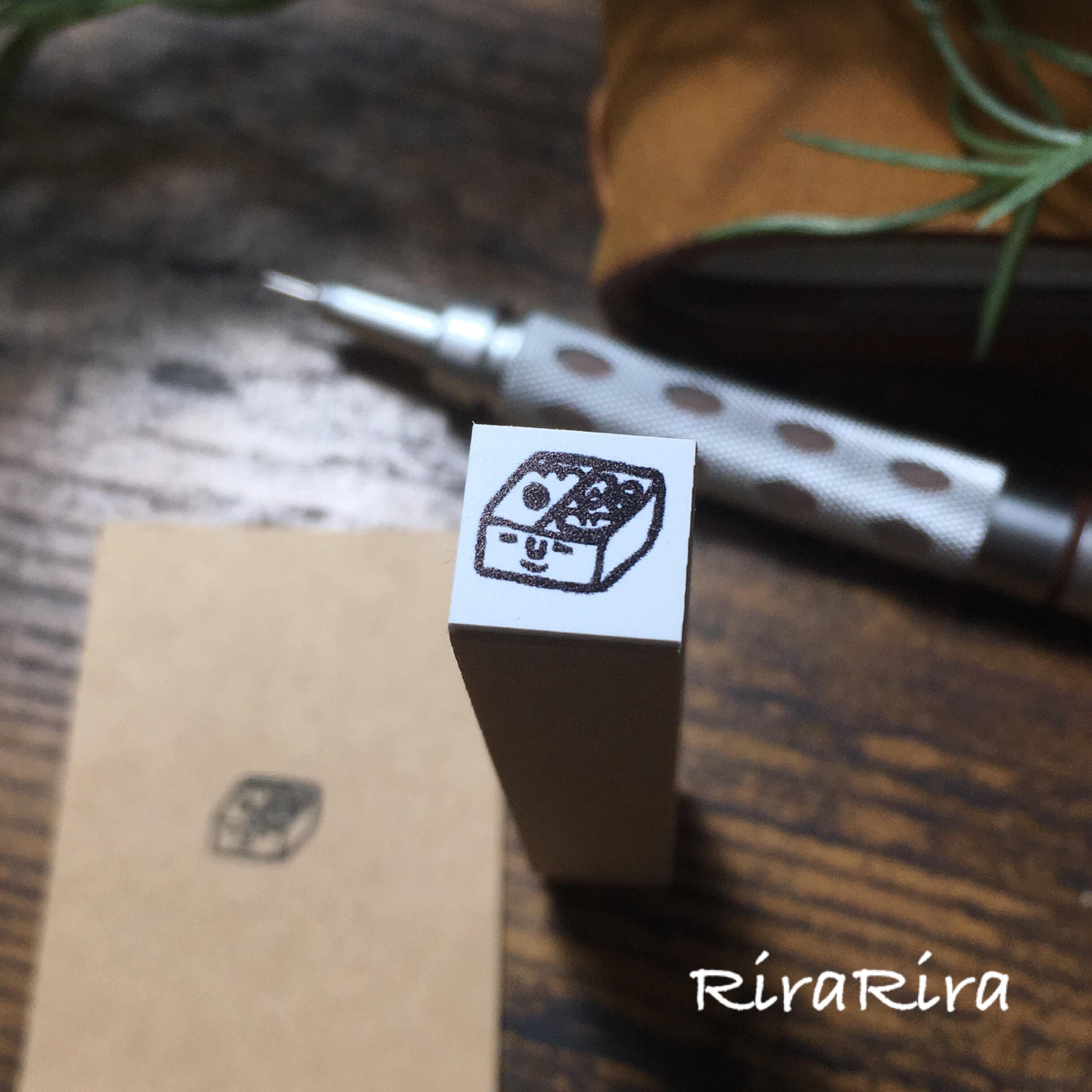 R112【お弁当】スケジュールはんこ*10㎜×10㎜_1