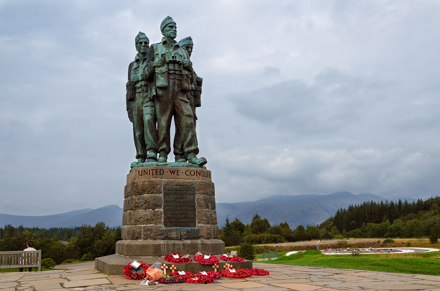bigstock-Commando-Memorial-Scotland-94074734