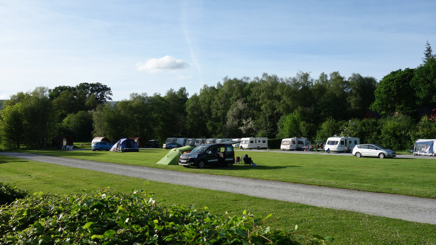 Camping Near Fort William
