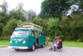 Camping and Touring Near Fort William. Campsite Fort William