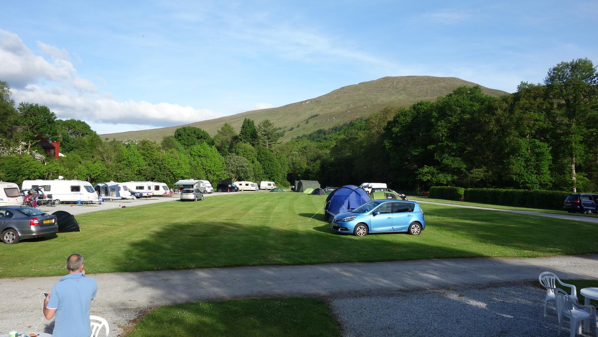 Camping Site Scotland