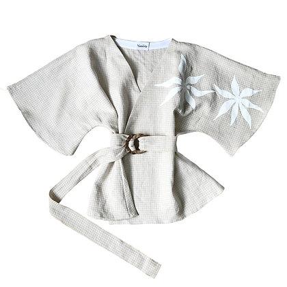 Sunstar Linen Kimono