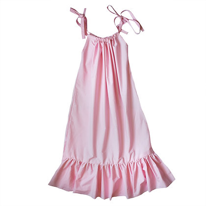 Azalea Pink Smock Dress