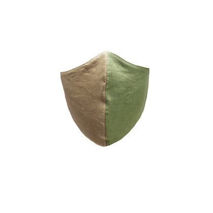 Tonia Face Mask in Linen