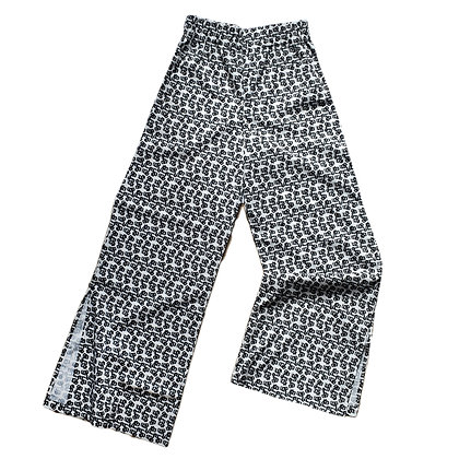 Aeros Trousers in Fleur Rétro Mono