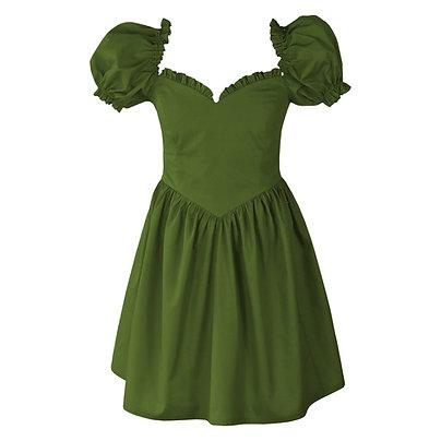 Boni Dress in Fern