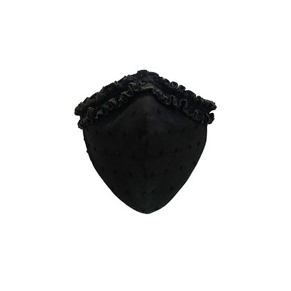 Thera Face Mask in Black Dot