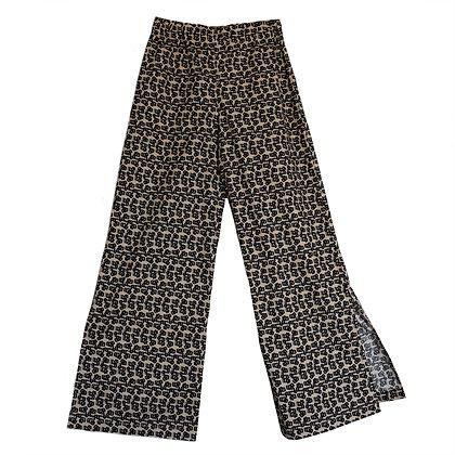Aeros Trousers in Fleur Rétro Sand