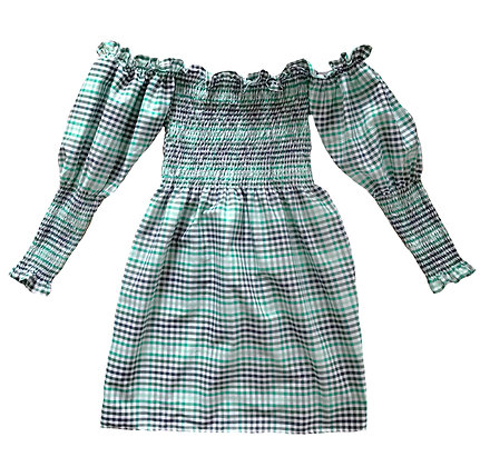 Villanelle Gingham Dress