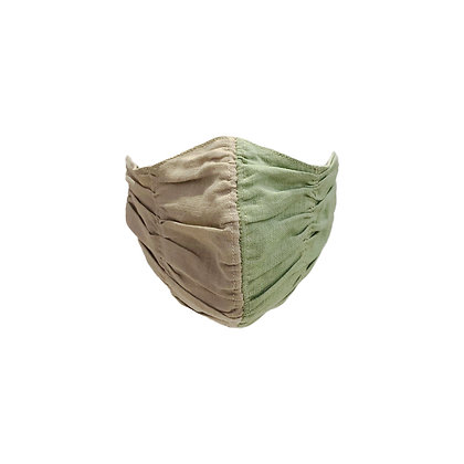Trapeze Face Mask in Linen