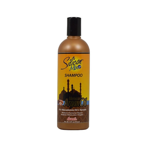 Silicon Mix Moroccan Argan Oil 16-ounce Shampoo
