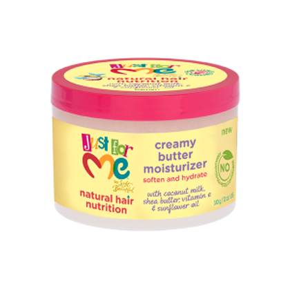 Just for Me Natural Hair Nutrition Creamy Butter Moisturizer