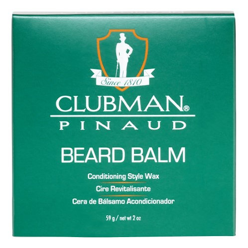 Clubman Beard Balm & Styling Wax, 2-oz