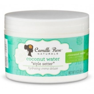Camille Rose Naturals Coconut Water Style Setter Hydrating Creme 8oz