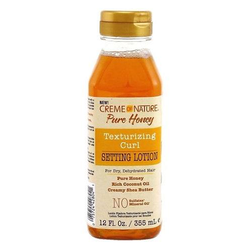 Creme of Nature Pure Honey Setting Lotion 12 Oz