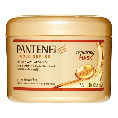 Pantene Gold Series Repairing Mask - 7.6 Fl Oz