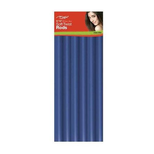 """Magic Soft Twist Rollers 9/16"""" Blue"""