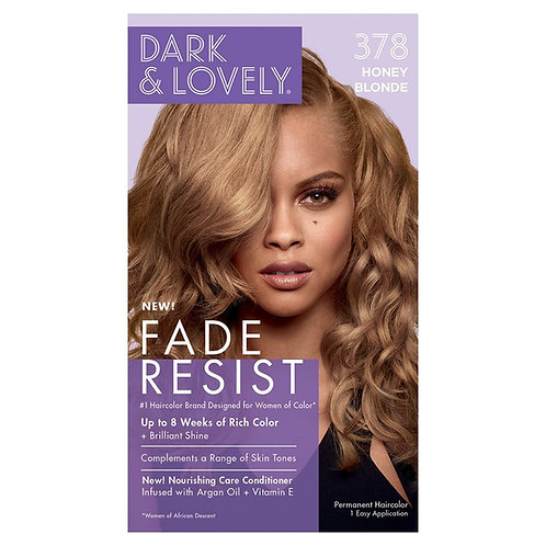 Dark and Lovely Fade Resist Luminous  Rich Conditioning Color