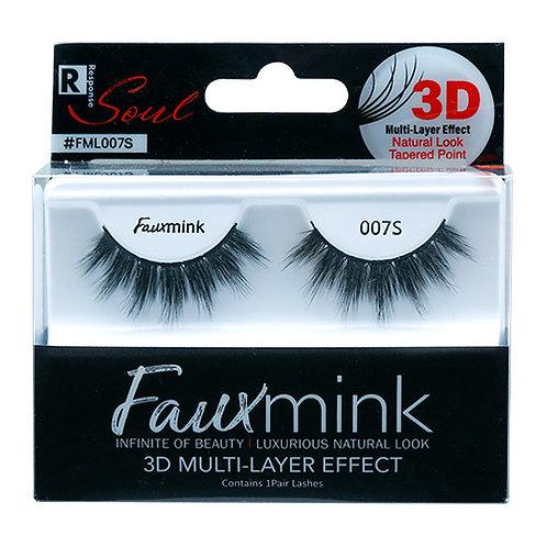 RESPONSE  3D Faux Mink Lashes 007s Black
