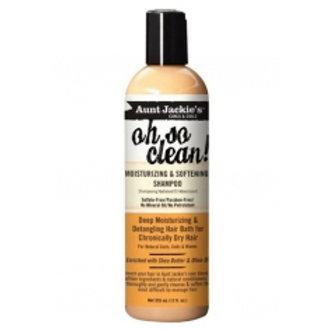 Aunt Jackie's Oh So Clean Moisturizing & Softening Shampoo 12 oz