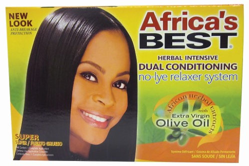 Africa's Best Herbal Intensive Dual Conditioning Relaxer - Super