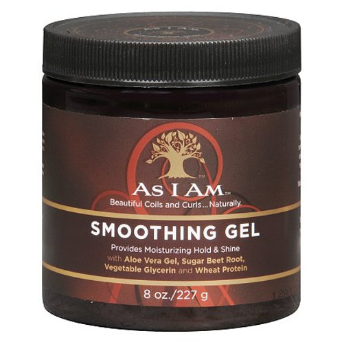 As I Am Beautiful Coils & Curls Naturally Smoothing Gel, 8oz