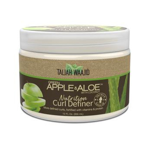 Taliah Waajid Green Apple & Aloe Nutrition Curl Definer 12oz