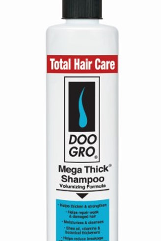 DOO GRO Mega Thick Growth Shampoo, 10 Oz