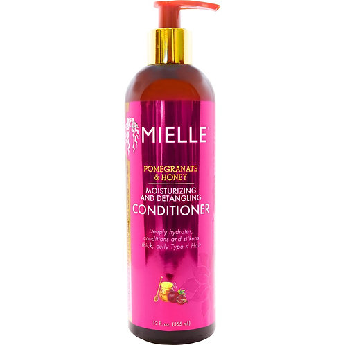 MIELLE   Pomeganate & Honey Moisturizing and Detangling Conditioner 12oz