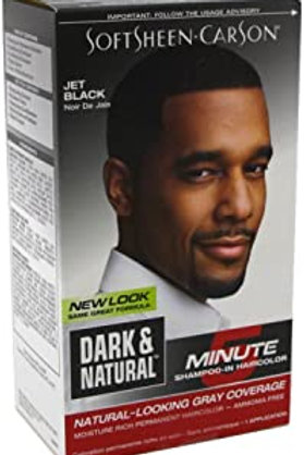 Dark and Lovely 5 minute Shampoo In Hair Color - Jet Black