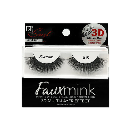 RESPONSE  3D Faux Mink Lashes 015 Black