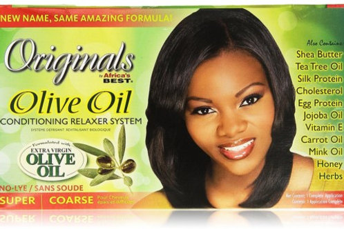 Organics Olive  Africa's Best Organic Conditioning System -Super