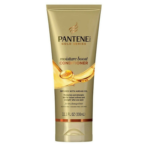 Pantene Pro-V Moisture Boost Conditioner, Gold Series, 11.1 Fl Oz