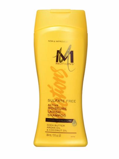 Motions Sulfate Free Active Moisture Lavish Shampoo, 13 Oz