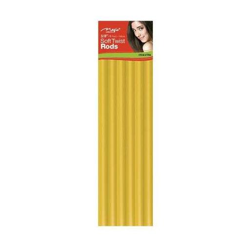"Magic Soft Twist Rollers 3/8""Yellow"