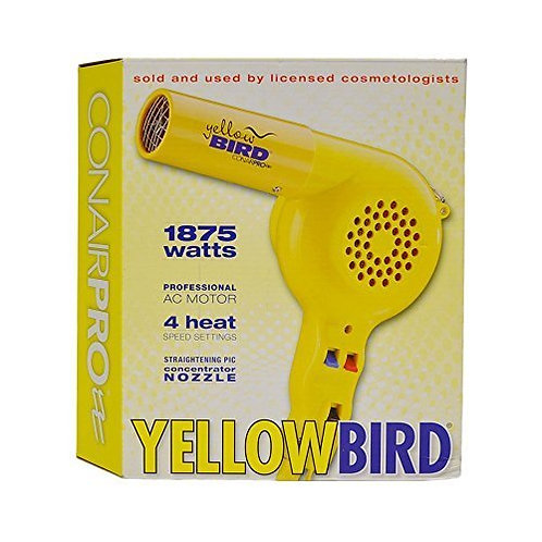 Conair Yellow Bird 1875 Watt Dryer