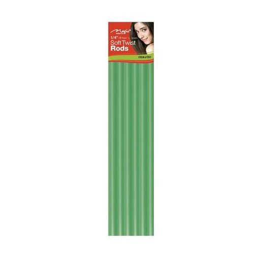 "Magic Soft Twist Rollers 1/4"" Green"