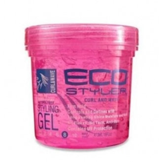 Eco Styler Professional Styling Gel for Curls & Waves, Pink