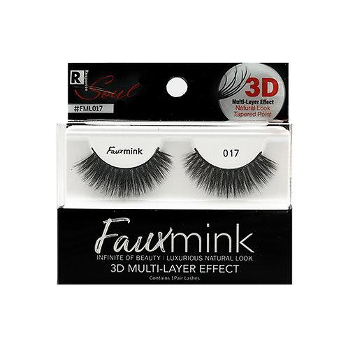 RESPONSE  3D Faux Mink Lashes 017 Black