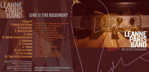 Basement Live CD Cover