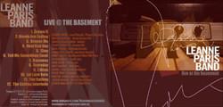 Basement Live CD Cover
