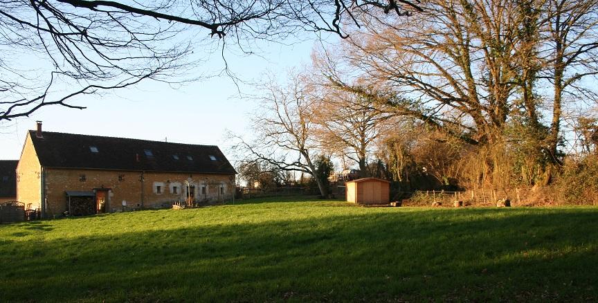 Le parc et la maison d'hôtes