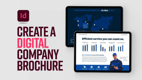Create an interactive company brochure with pop-out windows in Adobe InDesign