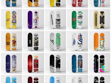 Challenge complete! 30 days, 30 skateboard designs