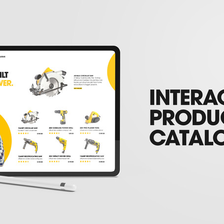 Learn how to create an interactive product catalogue in Adobe InDesign