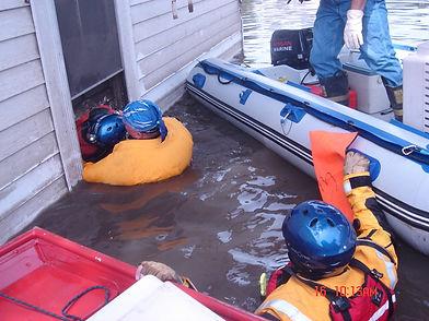 Eric, Kathi & Kay Cedar Rapids rescue.jp