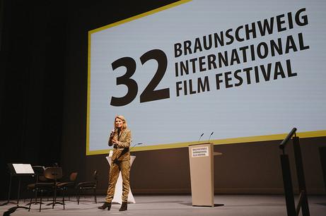 Bühnenmoderation Braunschweig International Film Festival