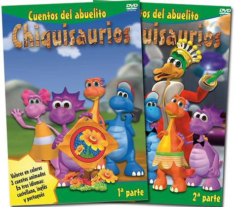 Chiquisaurios DVD x2